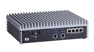 eBOX671-885-FL Embedded PC Rear View