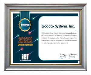 IEI Certificate