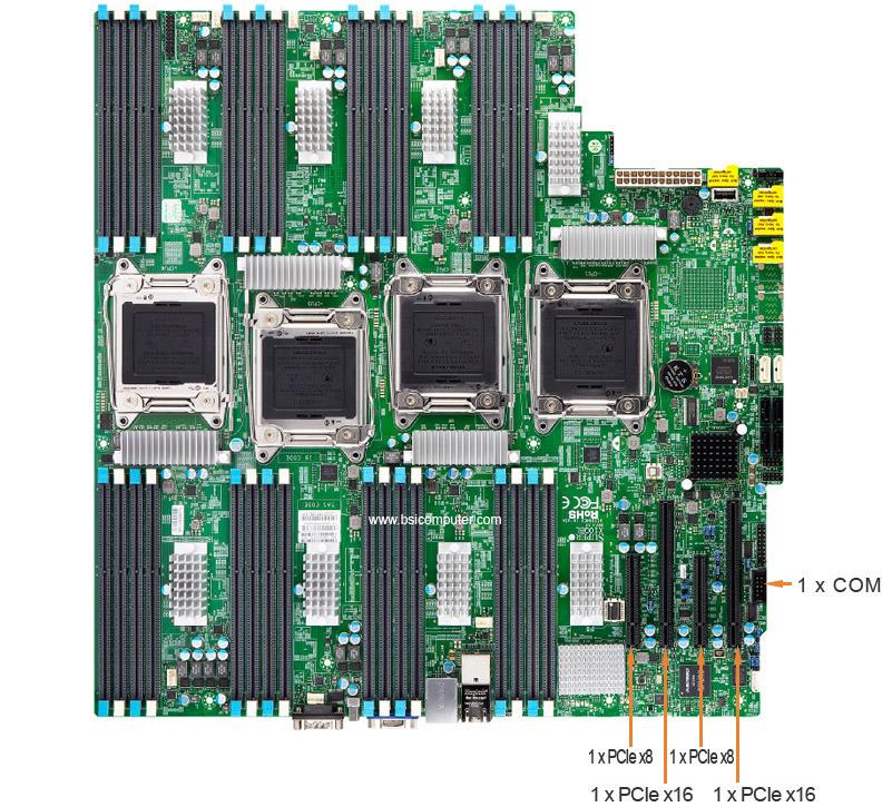 Supermicro 8048B-C0R3FT Tower Super Server Configuration