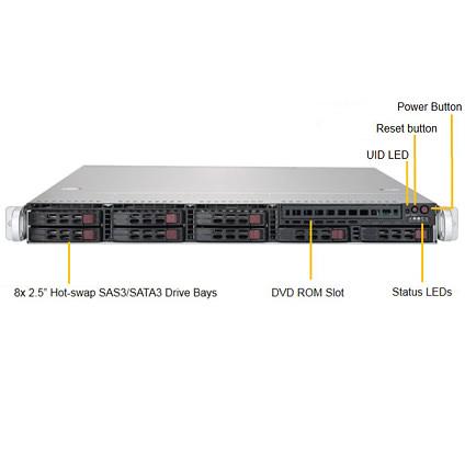 Supermicro 1029P-WTR 1U Rackmount Server   BSIComputer com